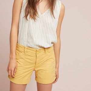 Anthropologie Rolled Utility Shorts by Sanctuary